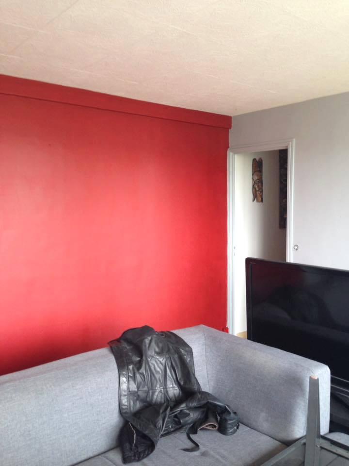 mur rouge
