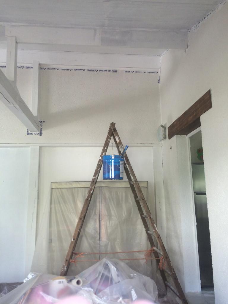plafond et poutres