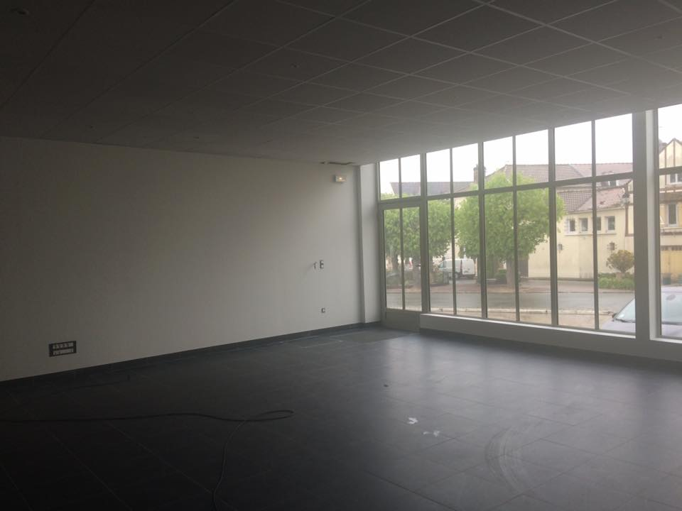 show room d'un garage